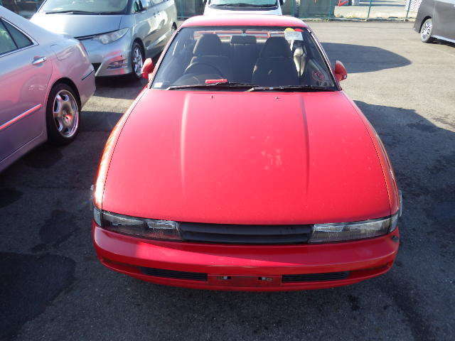 1991 nissan silvia coupe red aero skirts jdm rhd s13 240sx high auction grade for sale nissan. Black Bedroom Furniture Sets. Home Design Ideas