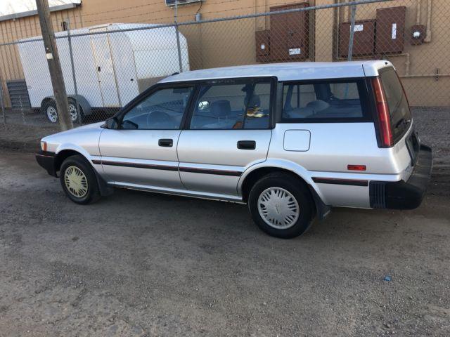 1991 TOYOTA COROLLA DE WAGON AWD for sale - Toyota Corolla DLX 1990 for sale in Albuquerque, New ...
