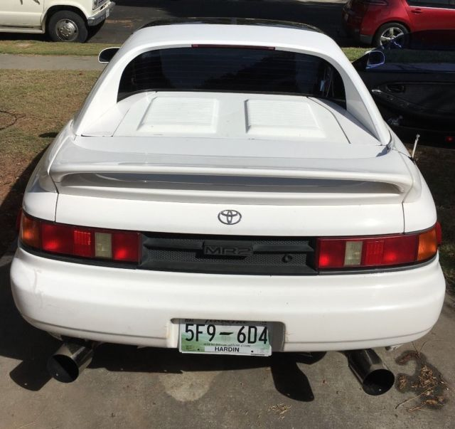 1991 Toyota Mr2 For Sale: 1991 Toyota MR2 Turbo, T-Top, 2nd Gen JDM Motor For Sale