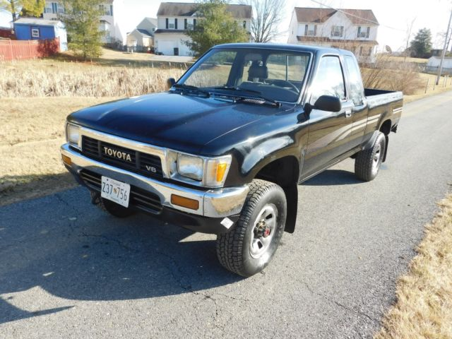 1991 Toyota Pickup Truck X-Cab 4x4 3 0 V6 5 Speed for sale