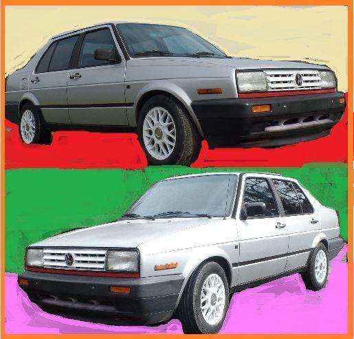 Volkswagen Diesel Cars For Sale: 1991 Volkswagen Jetta GL Diesel 1.6 5 Speed (MANY LARGE