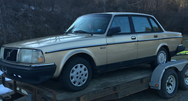 Where Can I Get My Car Inspected >> 1991 Volvo 240 Classic all original Vintage old square box Volvo for sale - Volvo 240 1991 for ...