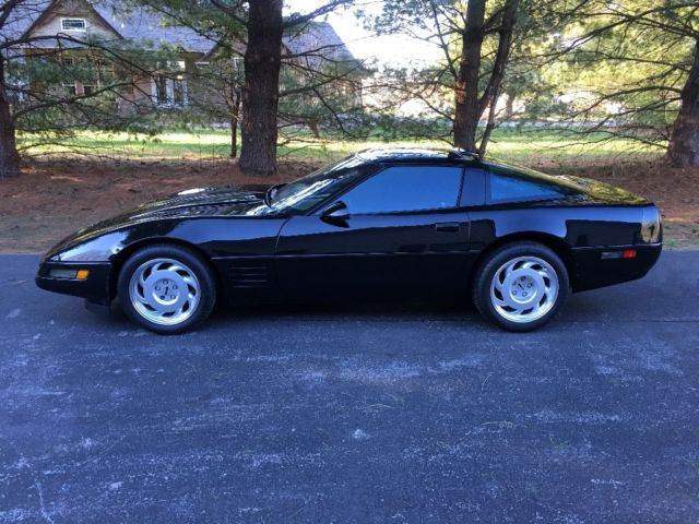 1991 Zr1 Corvette No Reserve Black Factory Stock