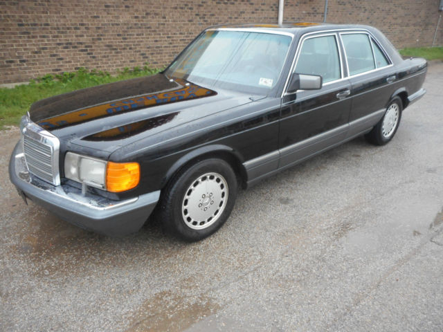 1991mercedes 350sd one owner timecapsule quality for sale for Mercedes benz s500 for sale by owner
