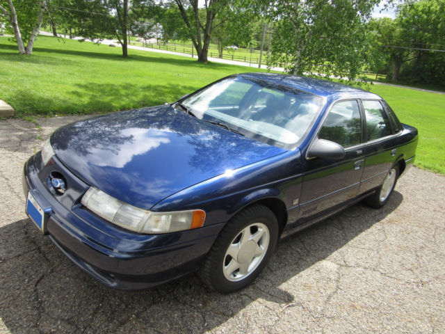 1992 blue ford taurus sho 5 speed manual in ne ohio collector condition for sale ford. Black Bedroom Furniture Sets. Home Design Ideas