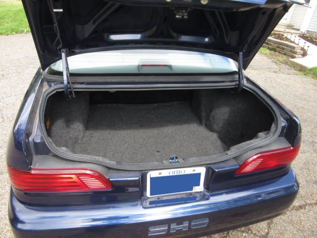 1992 Blue Ford Taurus Sho 5 Speed Manual In Ne Ohio