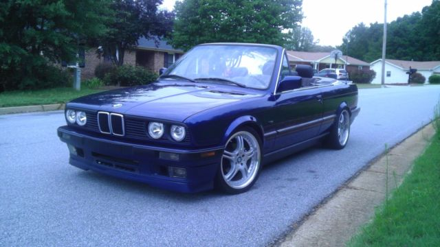 1992 Bmw 318i E30 S52 Swapped Convertible 2 Door 325i