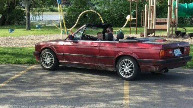 1992 bmw e30 325i convertible