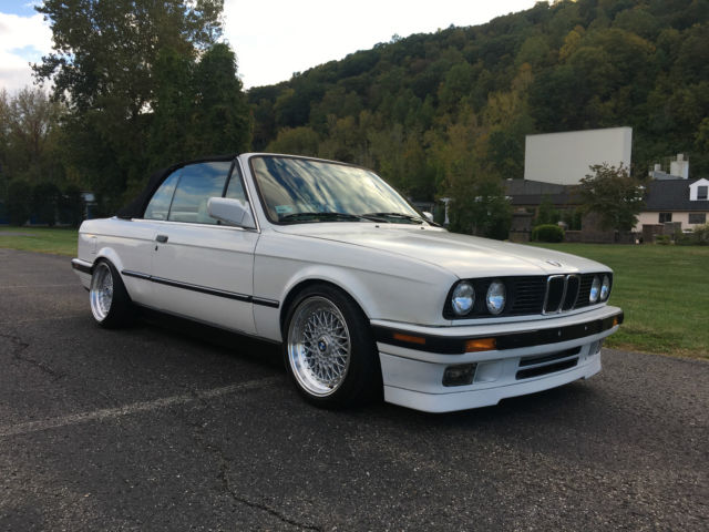 1992 Bmw 325i Convertible Rebuilt M20 5 Speed E30 For Sale