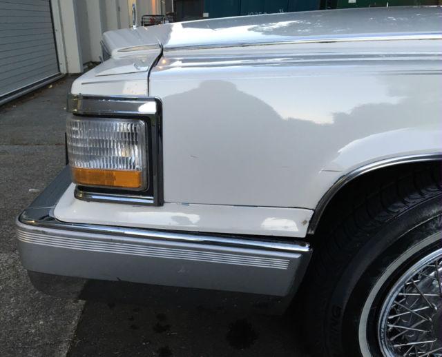 1992 Cadillac Fleetwood Brougham D'Elegance For Sale