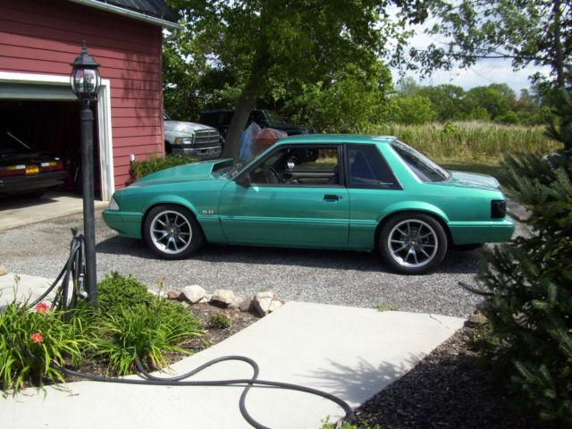 1992 Calypso Green LX Notchback 351W Procharged EFI for sale