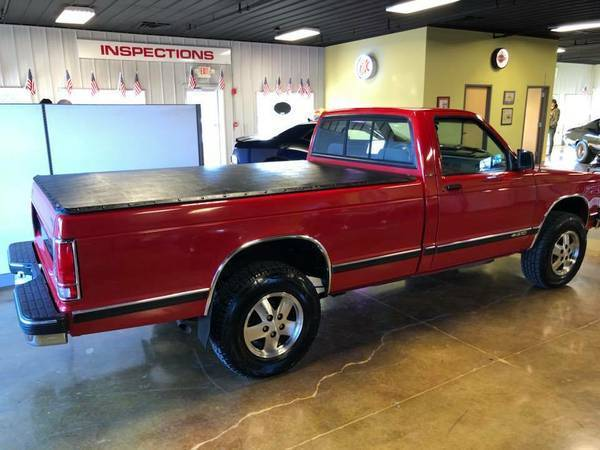1992 Chevrolet S10 Long Bed No Rust V6 4x4 20k Original Miles Very Clean For Sale Chevrolet S 10 1992 For Sale In Saint Charles Missouri United States