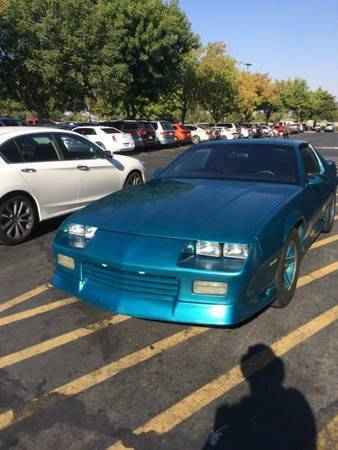 1992 chevy camaro rs heritage edition for sale - Chevrolet