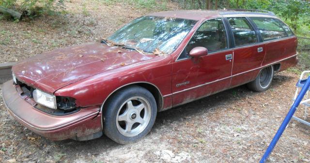 1992 Chevy Caprice Classic 9 Passenger Station Wagon Plus
