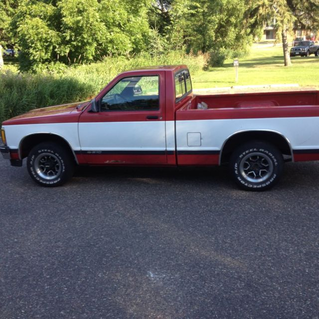 1992 CHEVY S10 EXCELLENT LOW MILES! 86,214 SHORT BED For