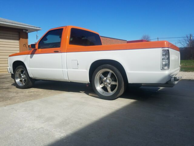 1992 Chevy S10 roller project, 10 bolt posi, lowered, 18