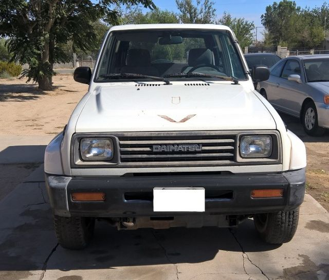 Daihatsu 4x4: 1992 Daihatsu Rocky SE, 4x4, 5 Speed, CA Cruiser, Rare