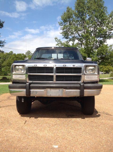 1992 Dodge Cummins Diesel W250 For Sale