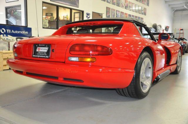 1992 dodge viper sports car rt 10 3k miles a collectors dream car 1st yr produ for sale dodge. Black Bedroom Furniture Sets. Home Design Ideas