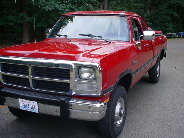 1992 Dodge W250 Clubcab Cummins Diesel 4x4 1991 1993 1989