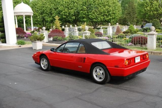 1992 ferrari mondial t cabriolet 6 950 miles red. Black Bedroom Furniture Sets. Home Design Ideas