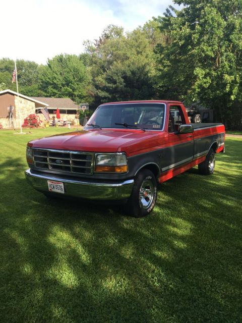 1992 ford f 150 xl xlt custom special edition pickup truck for sale ford f 150 xl xlt 1992. Black Bedroom Furniture Sets. Home Design Ideas