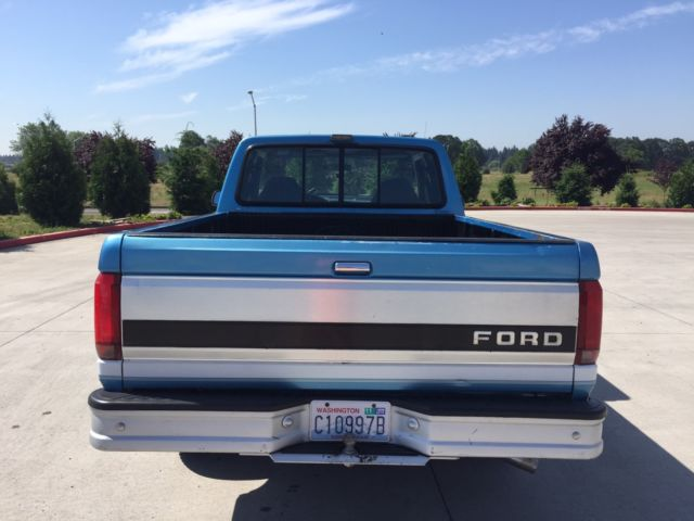 1992 ford f 150 xlt 4x4 extended cab short bed for sale ford f 150 1992 for sale in vancouver. Black Bedroom Furniture Sets. Home Design Ideas