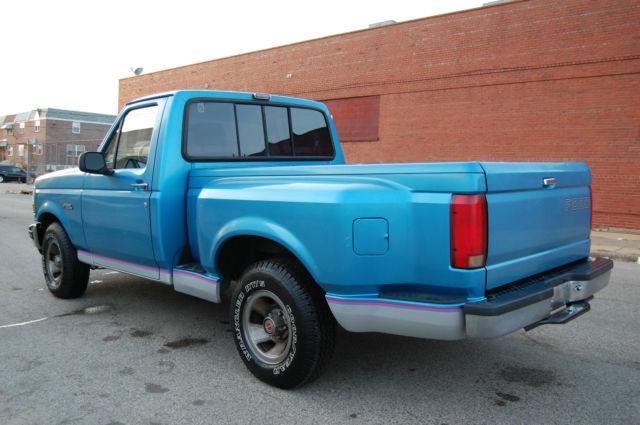 1992 ford f 150 xlt 5 0l v8 flareside stepside clean f150 truck only 71k miles for sale ford. Black Bedroom Furniture Sets. Home Design Ideas