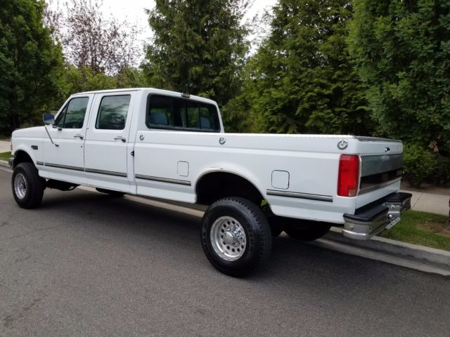 1992 ford f 350 crew cab 4x4 long bed 1993 1994 1995 1996 1997 1998 1999 for sale ford f. Black Bedroom Furniture Sets. Home Design Ideas