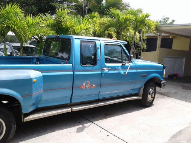 1992 ford f 350 long bed dually xlt 150k florida truck 98 for sale ford f. Black Bedroom Furniture Sets. Home Design Ideas