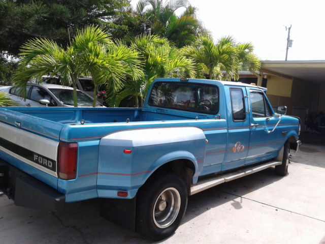1992 ford f 350 long bed dually xlt 150k florida truck 98 for sale ford f. Black Bedroom Furniture Sets. Home Design Ideas