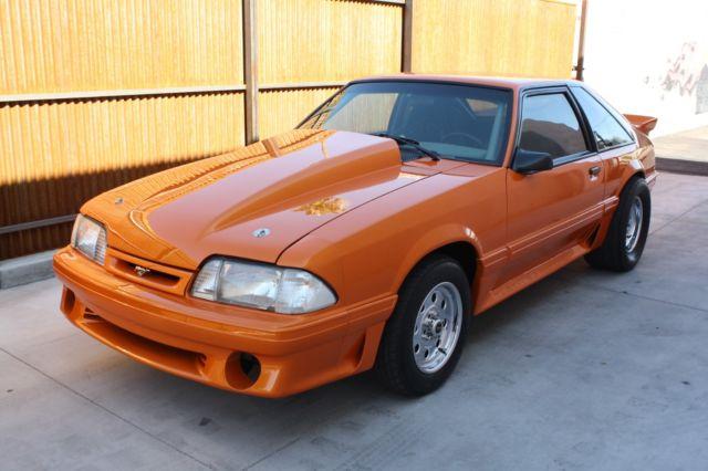 Ford Mustang Gt Fox Body Showcar   Quarter Mile Street Legal Pump Gas