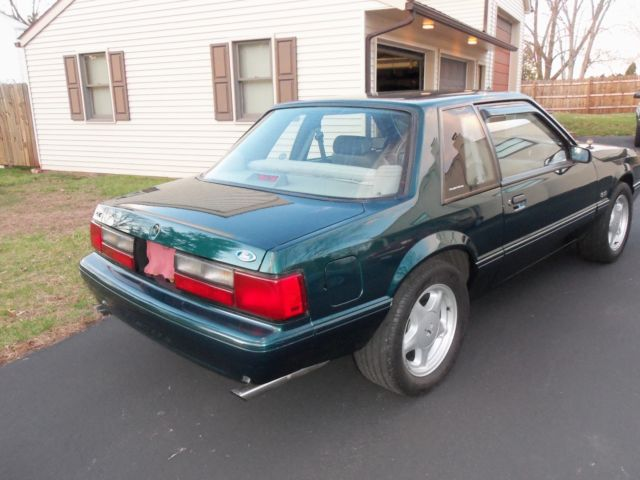1992 Ford Mustang Lx 5 0 Coupe Notchback Original 42 000