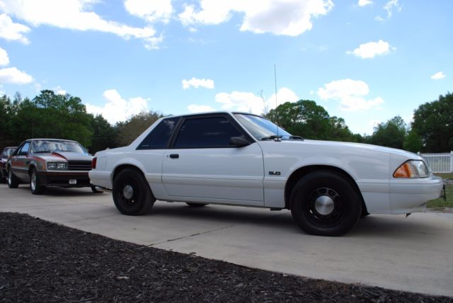 1992 Ford Mustang Ssp Former Police Car Interceptor Rare Original Unmolested For Sale Ford