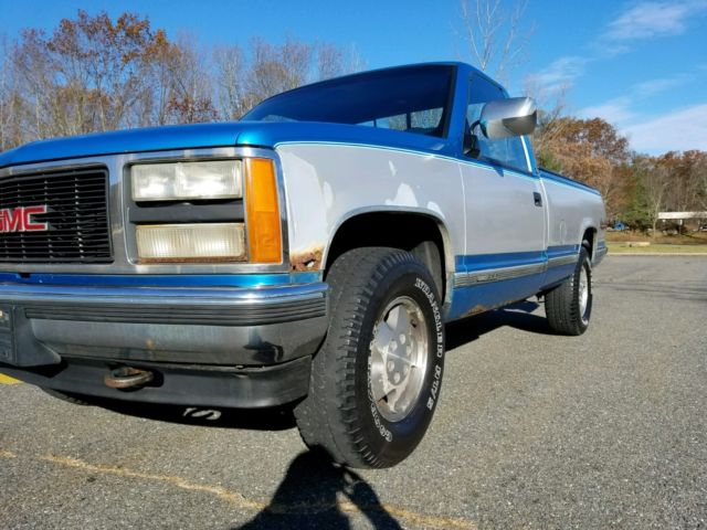 1992 gmc sierra k1500 sle 4x4 regular cab long bed 5 7l v8. Black Bedroom Furniture Sets. Home Design Ideas