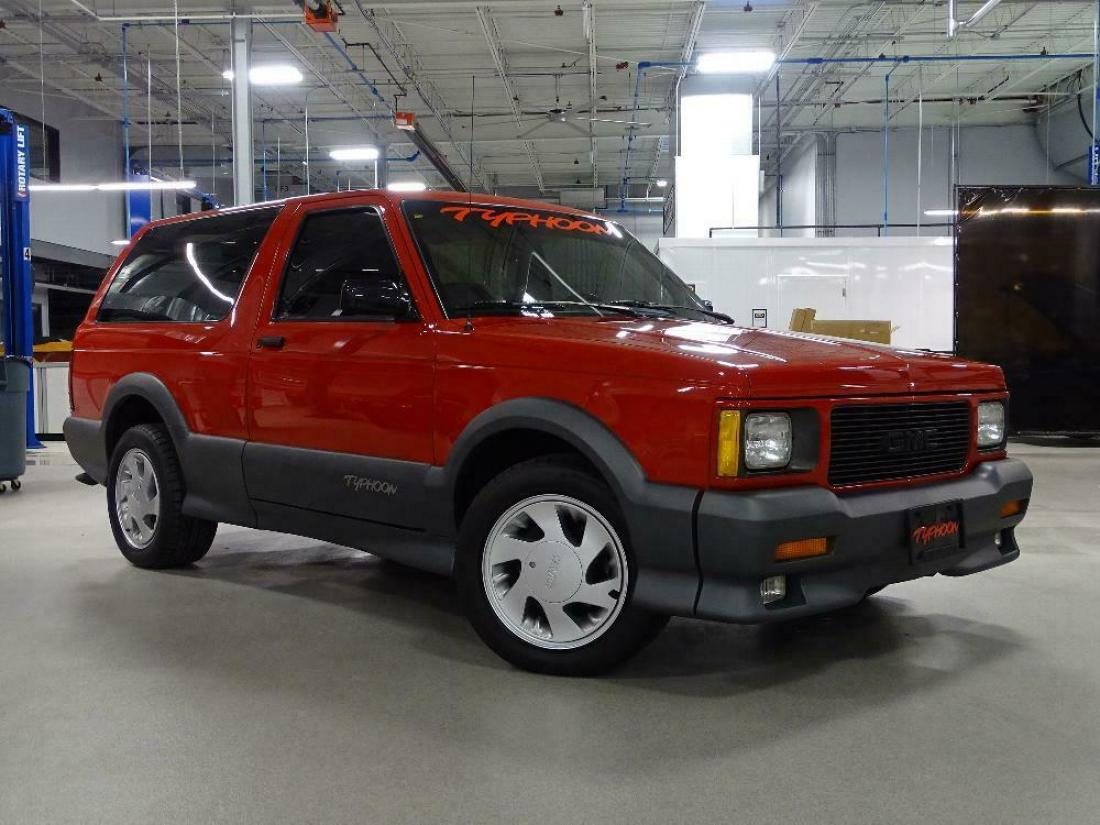 1992 Gmc Typhoon 26 669 Miles Apple Red Suv V6 Automatic For Sale Gmc Typhoon 1992 For Sale In Lincolnshire Illinois United States