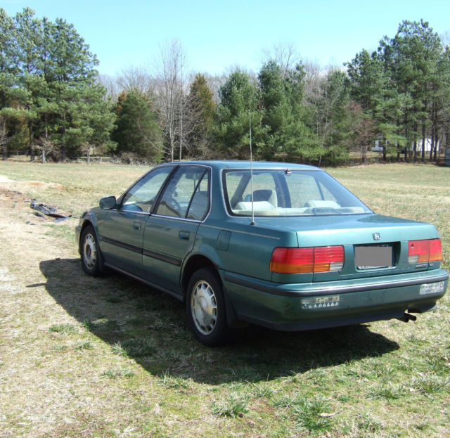1992 honda accord ex sedan 4 door automatic 4 cylinder green sun roof for sale honda accord. Black Bedroom Furniture Sets. Home Design Ideas