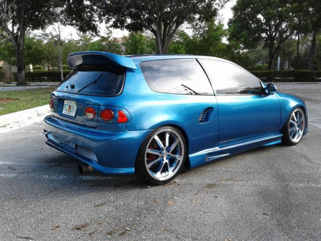 Honda Civic Dx Hatchback Integra Gsr Motor Turbo Capable Of Hp