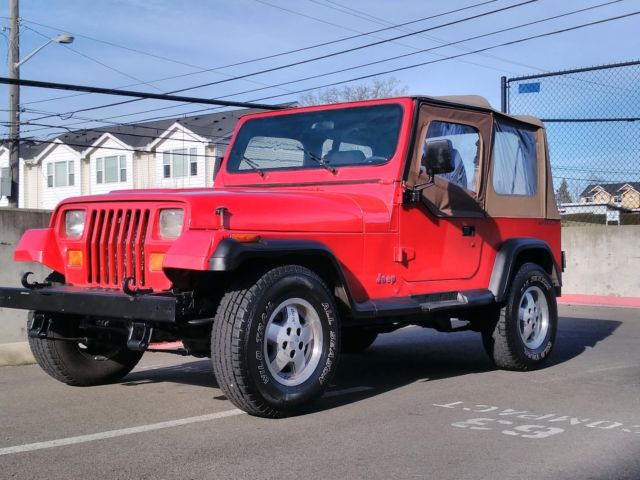 1992 Jeep Wrangler 4x4 4 0 6 Cylinder Islander Edition 114k Miles 100 Rust Free For Sale Jeep