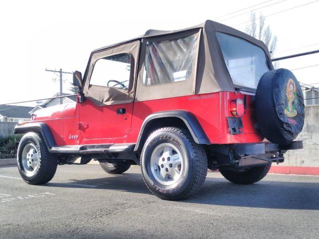 1992 jeep wrangler 4x4 4 0 6 cylinder islander edition. Black Bedroom Furniture Sets. Home Design Ideas