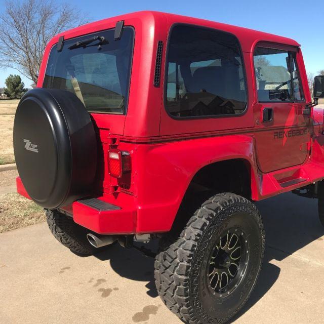 1992 jeep wrangler renegade for sale jeep wrangler renegade 1992 for sale in cleburne texas. Black Bedroom Furniture Sets. Home Design Ideas
