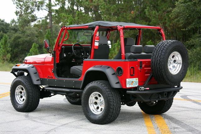 1992 Jeep Wrangler YJ 5 3L LS SWAP!! Published Magazine Jeep, Show