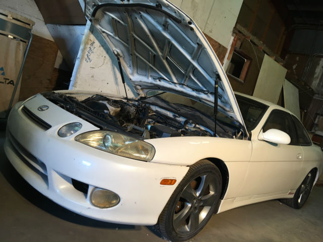1992 lexus sc300 project car trd 1jz gte base coupe 2 door. Black Bedroom Furniture Sets. Home Design Ideas
