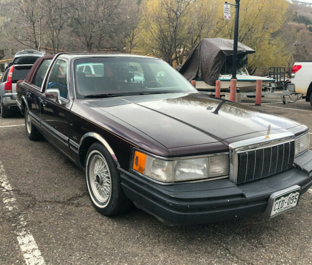 Lincoln Town Car Executive For Sale