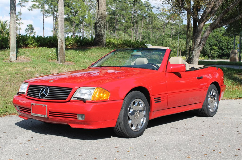 1992 mercedes benz 500sl 48 000 actual miles clean carfax one owner for sale mercedes benz 500. Black Bedroom Furniture Sets. Home Design Ideas