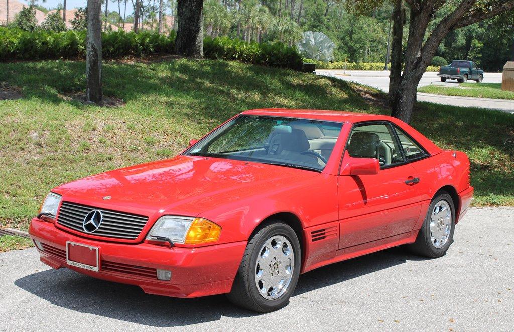 1992 mercedes benz 500sl 48 000 actual miles clean carfax for 500sl mercedes benz
