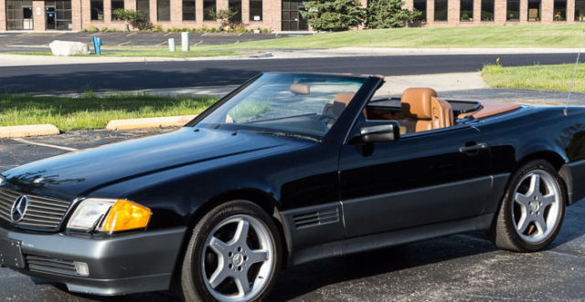 1992 mercedes benz 500sl roadster no reserve will sell for Sell mercedes benz