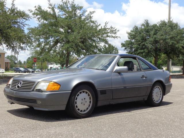 1992 mercedes sl 500 no reserve own a classic no for Mercedes benz of orange park florida