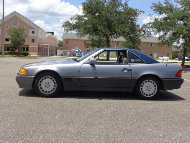 1992 mercedes sl 500 no reserve own a classic no for Mercedes benz orange park fl