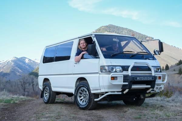 1992 Mitsubishi Delica L300 Starwagon GLX Turbo Diesel 4x4